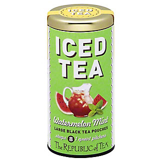 The Republic of Tea Watermelon Mint Iced Tea Bags, 8 ct