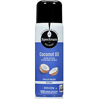 Spectrum Refined Coconut Oil Spray, 6 oz