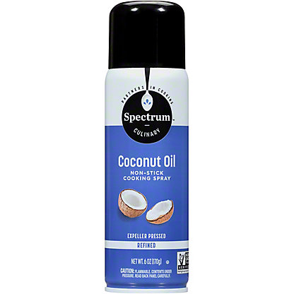 Spectrum Refined Coconut Oil Spray, 6 oz