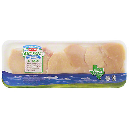 H-E-B Natural Chicken Breast Thin Sliced Boneless Skinless