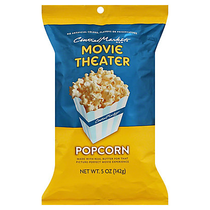 Central Market Movie Theater Popcorn,5.00 oz