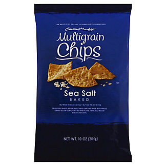 Central Market Sea Salt Multigrain Baked Chips,10 OZ