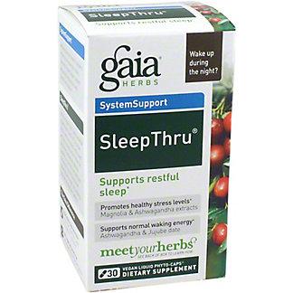 Gaia Herbs Sleep Thru, 30 Ct