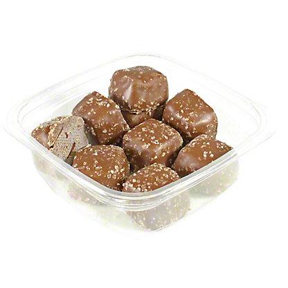 Milk Chocolate Covered Sea Salt Caramel,LB