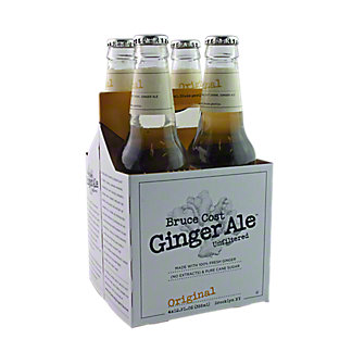 Bruce Cost Original Ginger Ale 4 Pack, 4 ct