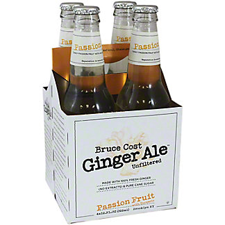 Bruce Cost t Ginger Ale Passion Fruit 4 Pack,4.00 ea
