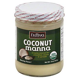 Nutiva Organic Coconut Manna, 15 oz
