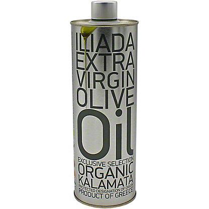 Iliada PDO Organic Kalamata Greek Extra Virgin Olive Oil, 16.9 OZ