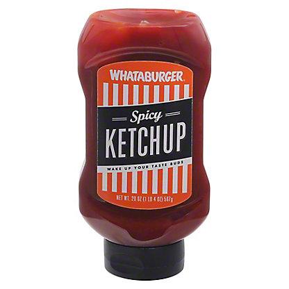 Whataburger Spicy Ketchup, 20 oz