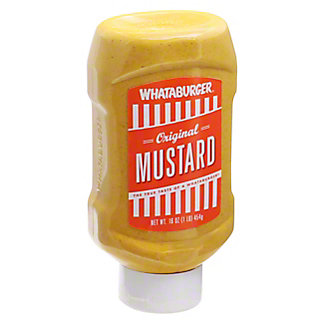 Whataburger Original Mustard, 16 oz