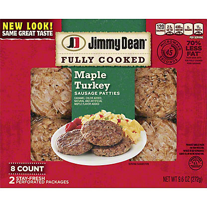 Jimmy Dean Maple Turkey Sausage Patties,9.6 OZ