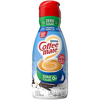 Nestle Coffee-Mate Sugar Free French Vanilla Coffee Creamer, 32 oz