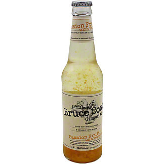Bruce Cost Ginger Ale Passion Fruit Single, 12 OZ