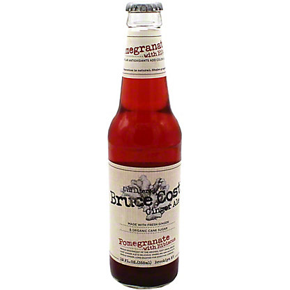 Bruce Cost Ginger Ale Pomegranate Single, 12 oz