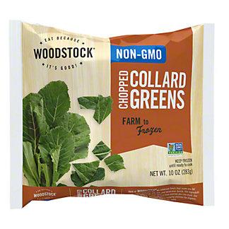 Woodstock Non Gmo Chopped Collard Greens, 10 oz