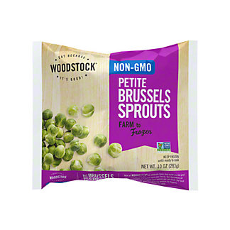 Woodstock Petite Brussels Sprouts,10 OZ