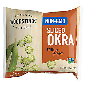 Woodstock Sliced Okra,10OZ