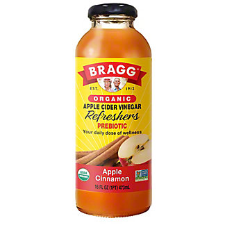 Bragg Organic Apple-Cinnamon Apple Cider Vinegar Drink, 16 oz