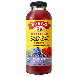 Bragg Concord Grape-Acai Apple Cider Vinegar Drink, 16 oz