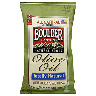 Boulder Canyon Boulder Olive Oil Kettle Cooked Potato Chips,5 OZ