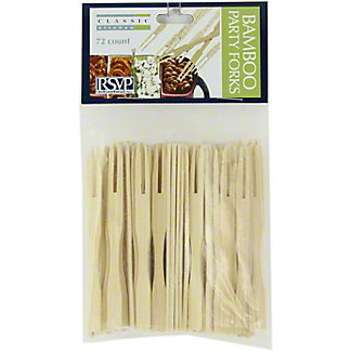 RSVP Bamboo Party Forks 3.5 Inch, ea