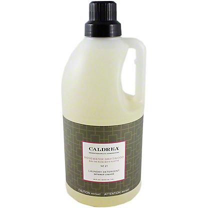 Caldrea Laundry Detergent Rosewater Driftwood, 64 OZ
