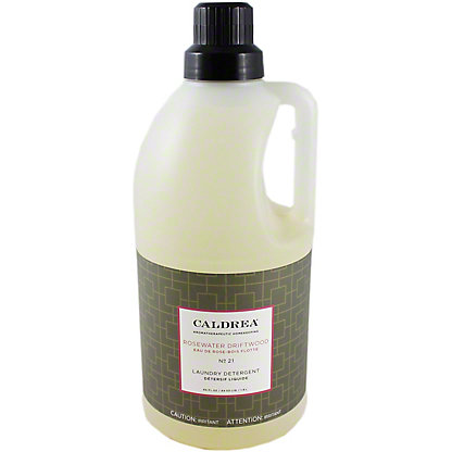 Caldrea Laundry Detergent Rosewater Driftwood, 64 OZ