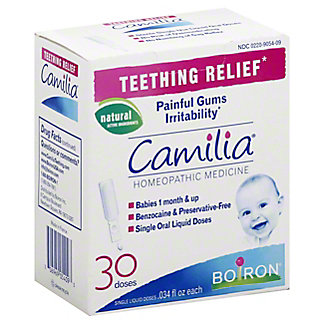 Camilia Boiron Teething Relief, 30 ct