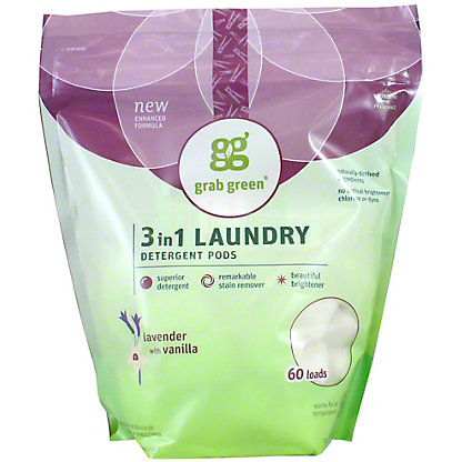 Grab Green Lavender Vanilla 3 In 1 Laundry Detergent 60 LD, 36 oz