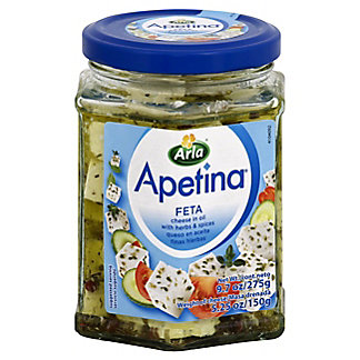 Apetina Feta In Oil W/Herbs And Spices,9.7 OZ