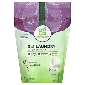 Grab Green Lavender Vanilla 3 In 1 Laundry Detergent 24,15.2OZ
