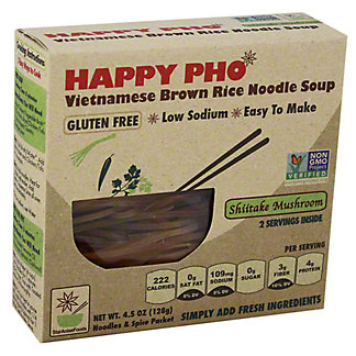 Happy Pho Rice and Noodle Soup Shiitake Mushroom, 4.50 oz