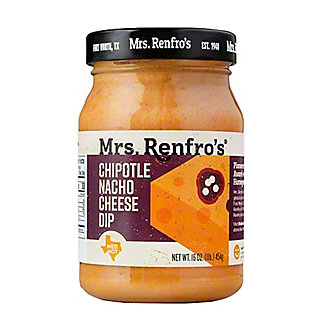 Mrs. Renfro's Nacho Cheese Sauce with Chipotle Medium Hot,16.00 oz