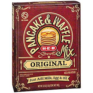 H-E-B Original Pancake & Waffle Mix,32 OZ