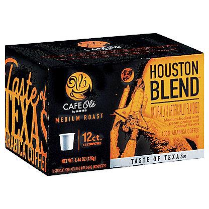 H-E-B Cafe Ole Houston Blend Taste of Texas Medium Roast Single Serve Coffee Cups,12 ct