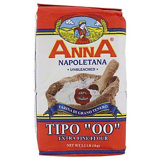 "Anna Napoletana Extra Fine ""00"" Flour,2.2 LB"