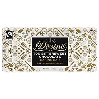 Divine Baking Bar, 70% Bittersweet Chocolate,5 OZ