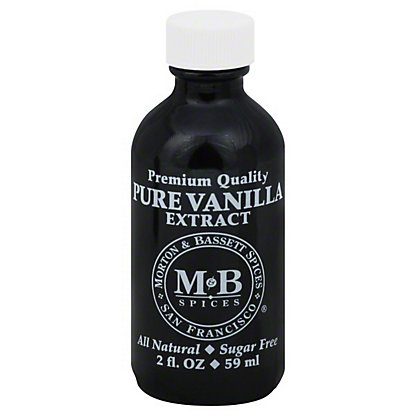 Morton & Bassett Vanilla Extract,2 OZ