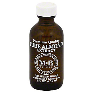 Morton & Bassett Pure Almond Extract,2 OZ