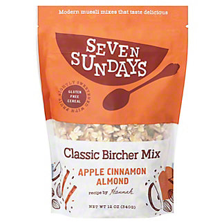 Seven Sundays Bircher (Unsweetened) Muesli, 12 OZ