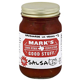 Mark's Good Stuff Lone Star Certified Hot Salsa, 16 oz