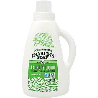 Charlies Soap Laundry Liquid 40 Load, 32 oz