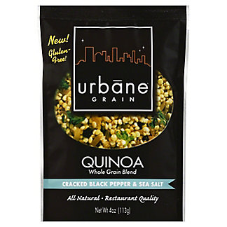 Urbane Grain Cracked Black Pepper Sea Salt Quinoa Blend,4 oz