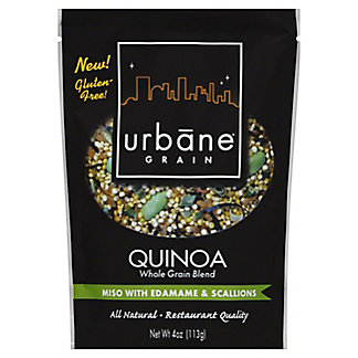 Urbane Grain Quinoa Whole Grain Blend Miso with Edamame & Scallions,4OZ