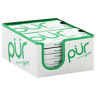 Pur Spearmint Gum,9 CT