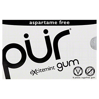 Pur Excitement Gum,9 CT
