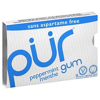 Pur Peppermint Gum,9CT