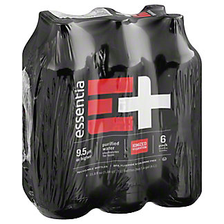 Essentia Super Hydrating Water, 6 pk - 1 L