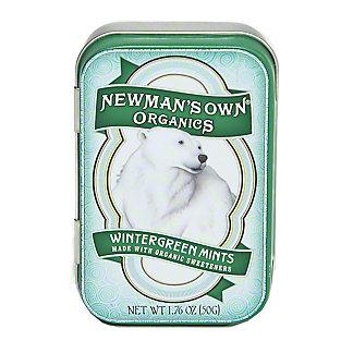 Newmans Own Organics Wintergreen Mint Tin,1.76OZ