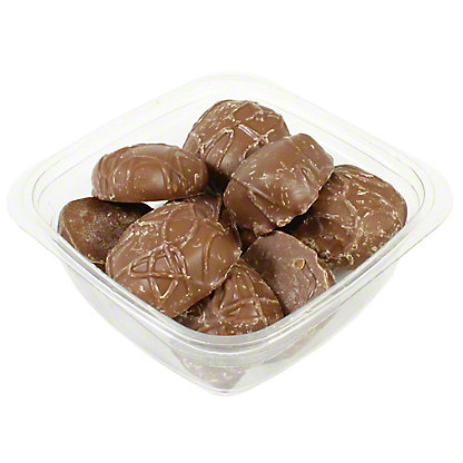Milk Chocolate Covered Vanilla Caramels,LB